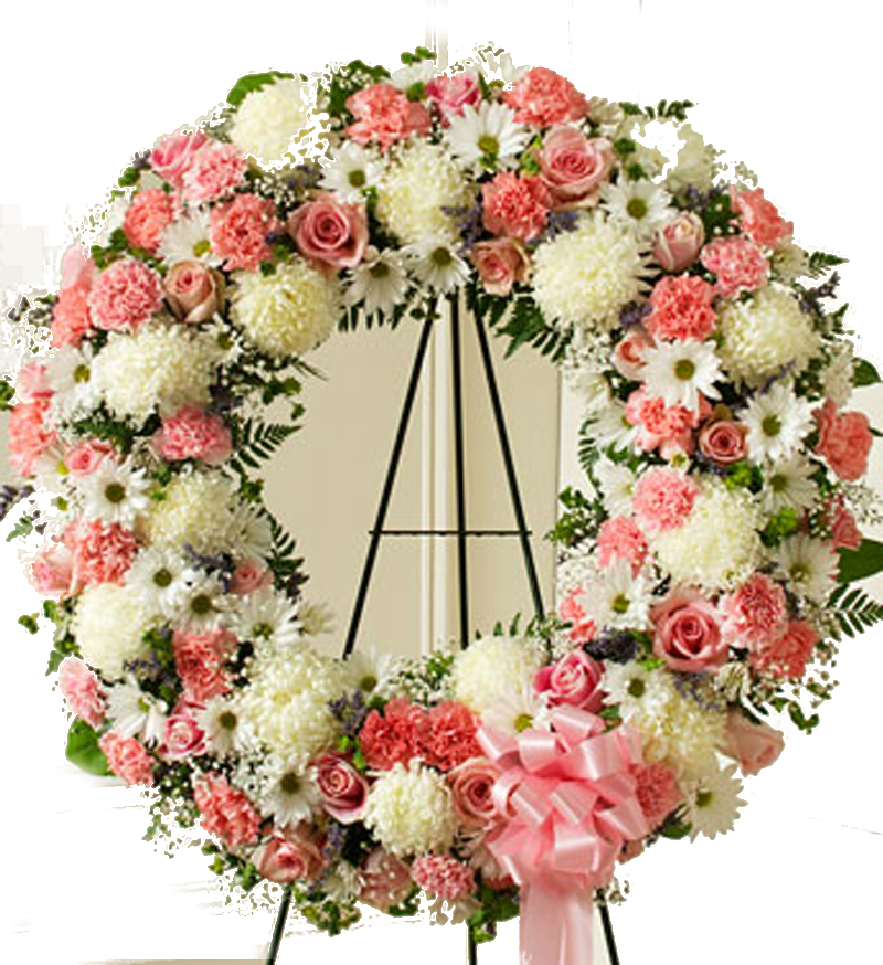 Irania florister a corona f nebre irania florister a - Coronas de flore ...