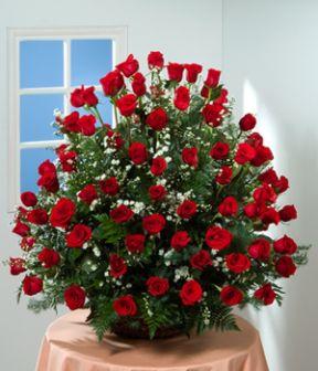 Irania Floristeria Arreglos Florales Grandes En Rosas Irania - Adornos-florales