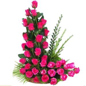 arreglo rosas , irania floristeria