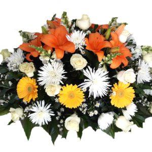 arreglo cubre caja irania floristeria bogota