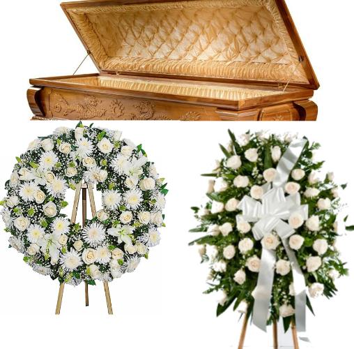 Pedestal Y Corona Fúnebre