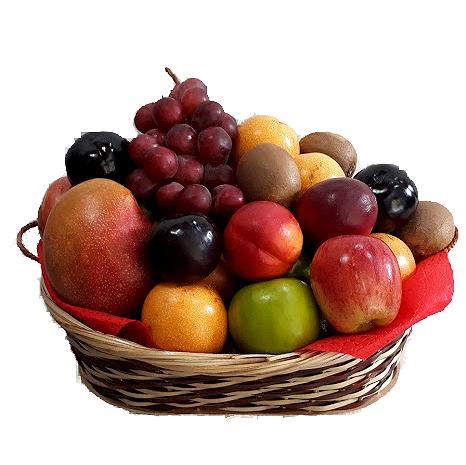 canasta de frutas, irania floristeria bogota